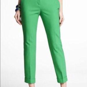 Express Green Crop Pant
